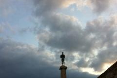 Le Vainqueur, forteresse de Kalamegdan, Belgrade, Serbie