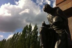 Mémorial aux soldats soviétiques, Treptower Park, Berlin, Allemagne