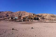 Gournah, près de Louxor, Rive ouest, Égypte