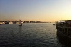 Le Nil à Louxor, Égypte