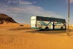 Entre Abou Simbel et Assouan, Égypte