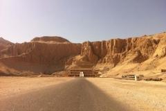 Temple de Hatchepsout, Près de Louxor, Rive ouest, Égypte