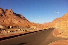 Village de Sainte-Catherine, désert du Sinaï, Égypte