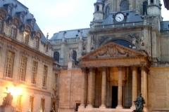 L'esprit des lieux - Cour d'honneur de la Sorbonne, Paris, France