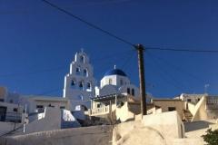 Pyrgos, Santorin, Cyclades, Grèce