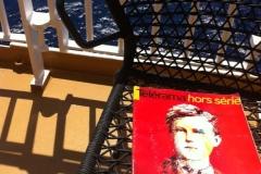 Sur le bateau pour les Cyclades, Grèce